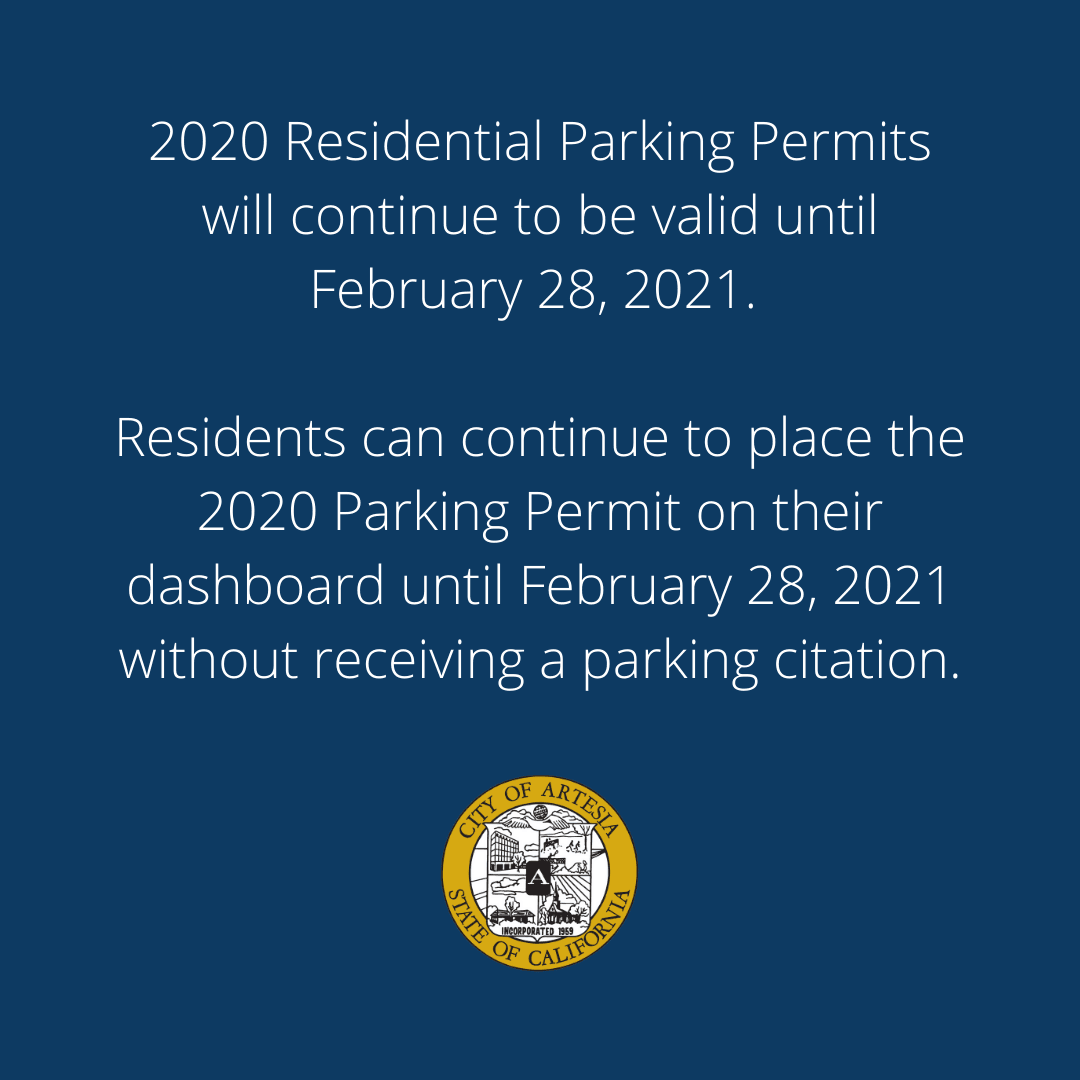 RESIDENTIAL PARKING PERMITS